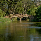 Picture - Bridge in Golden Gate Park. San Francisco.