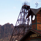 Picture - Goldfield Station in Nevada.