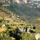 Picture - View over Gorges de la Jonte.