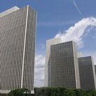 Picture - Towering buildings in Empire State Plaza, Albany.
