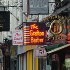Picture - Neon signs on Grafton Street in Dublin.
