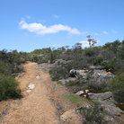 Picture - Track through Grampians National Park.