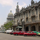 Picture - Street and Gran Teatro, Havana.