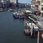 Picture - View of the Grand Canal in Venice.