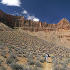 Picture - Tonto Trail in Grand Canyon.