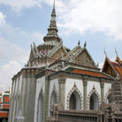 Picture - Towers of the Grand Palace in Bangkok.