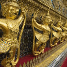Picture - Detail of the inside of the Grand Palace, Bangkok.