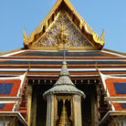 Picture - Entrance to the Wat Phra Kaew temple next to the grand Palace in Bangkok.