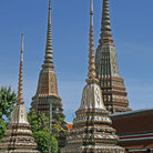 Picture - Chedis at the Grand Palace in Bangkok.