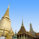 Picture - Roof tops at the Grand Palace, Bangkok.