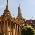 Picture - The Temple of Emerald Buddha in Bangkok.