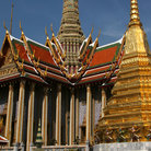 Picture - Exterior of the Temple of the Emerald Buddha.
