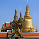 Picture - Wat Phra Kaeo (Temple of Emerald Buddha) at Grand Palace, Bangkok.