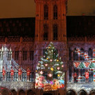 Picture - Laser Show at Grand Place, Brussels.