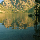 Picture - Grand Teton and Jenny Lake in Grand Teton National Park.