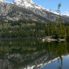 Picture - Taggart Lake in Grand Teton National Park.