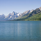 Picture - Jackson Lake in Grand Teton National Park.