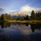 Picture - Schwabackers Landing, Grand Teton National Park.