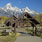 Picture - Chapel in The Grand Teton National Park, Wyoming.