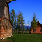 Picture - Mormon Row in Grand Teton National Park, Wyoming.