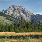 Picture - Mount Moran in Grand Teton National Park, Wyoming.
