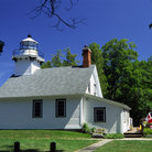 Picture - Old Mission Lighthouse on Grand Traverse Bay.