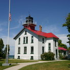 Picture - The Grand Traverse Lighthouse.