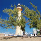 Picture - The historic Grand Turk Lighthouse.