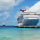 Picture - A cruise ship at port on Grand Turk.