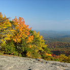 Picture - View from Grandfather Mountain in the fall.