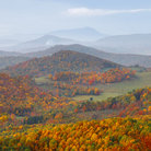 Picture - Grandfather Mountain in the North Carolina Highlands.