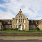 Picture - The old hospital in Grantham.