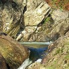 Picture - Rock pool and rapids in Easdale, near Grasmere,.