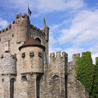 Picture - The Gravensteen Castle in Ghent.