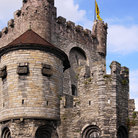 Picture - The castle of Gravensteen.