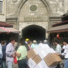 Picture - Delivering goods to Kapalicarsi Grand Bazaar in Istanbul.