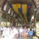 Picture - Inside the crowded Grand Bazaar in Istanbul.