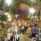 Picture - Inside the colorful Grand Bazaar in Istanbul.