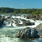 Picture - Great Falls on the Potomac River.