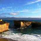 Picture - The London Bridge rock formation along the Great Ocean Road.