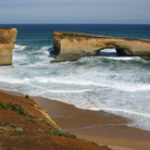 Picture - London Bridge, seen from Great Ocean Road in Victoria, Australia.