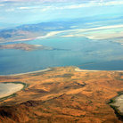 Picture - Aerial view of Great Salt Lake.