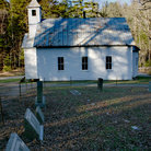 Picture - Missionary Baptist Church in Great Smoky Mountains National Park.