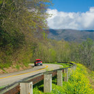 Picture - The New Found Gap Highway in Great Smoky Mountains National Park.