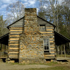 Picture - John Oliver House, Cades Cove, Great Smoky Mountains National Park.