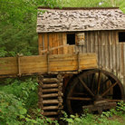 Picture - Grist Mill in Great Smoky Mountains National Park.