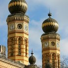 Picture - Great Synagogue Towers, Budapest.