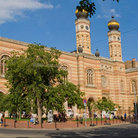 Picture - The Great Synagogue in Budapest.