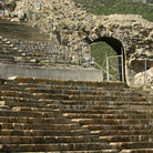 Picture - Archway in the Great Theatre at Ephesus.