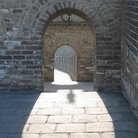 Picture - Archway on the Great Wall of China.